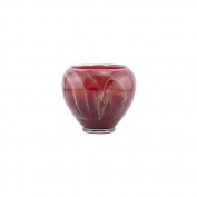 Northern Lights Candles 63112 15cm Vase - Cranberry