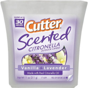 Cutter Candles 330ml Lavender Scented Citronella Outdoor Candle HG-96154