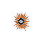 Kirch RM2201 George Nelson Wooden Sunburst Clock