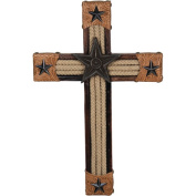 Rivers Edge Products 36cm Rope and Leather Cross