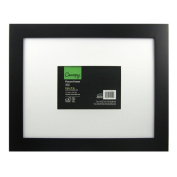 Canopy Wide Black 5x7 / 11x14 Picture Frame