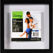 Canopy 8x8 Float Gallery Frame, Black