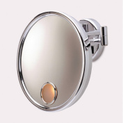 Jerdon Euro Hard-Wired 3x Wall Mount Lighted Mirror
