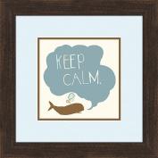 Keep Calm Wall Decor, Framed Art
