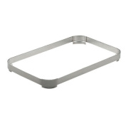 SMART Buffet Ware Oblong Stainless Steel Food Pan Adapter Ring