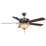 Fanimation BP220OB1 Indoor Ceiling Fans , Fans, Oil Rubbed Bronze with Cherry/Walnut Blades