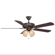 Fanimation BP210OB1 Indoor Ceiling Fans , Fans, Oil Rubbed Bronze with Cherry/Walnut Blades