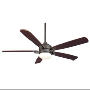 Fanimation FP8003OB Indoor Ceiling Fans, Fans, Oil Rubbed Bronze with Mahogany/Walnut Blades