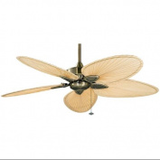 Fanimation FP7500AB Indoor Ceiling Fans , Fans, Antique Brass with Natural Blades