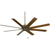 Fanimation FP7910OB Indoor Ceiling Fans , Fans, Oil Rubbed Bronze with Walnut Blades