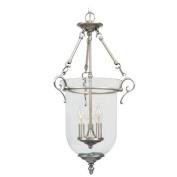 Livex Lighting 5022-91 Pendants , Indoor Lighting, Brushed Nickel