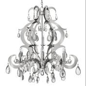 Fredrick Ramond FR43358PSS Chandeliers , Indoor Lighting, Polished Stainless Steel