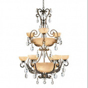 Fredrick Ramond FR44107FRM Chandeliers , Indoor Lighting, French Marble