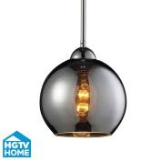 ELK Lighting 10240/1CHR Pendants , Indoor Lighting, Polished Chrome