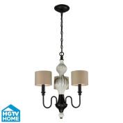 ELK Lighting 31373/3 Chandeliers , Indoor Lighting, Aged Bronze