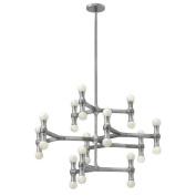 Fredrick Ramond FR41949PAL Chandeliers , Indoor Lighting, Polished Aluminium