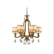 Corbett Lighting 71-06 Chandeliers , Indoor Lighting, Antique Roman Silver