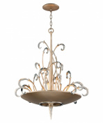 Corbett Lighting 156-48 Pendants , Indoor Lighting, Tranquilly Silver Leaf Finish