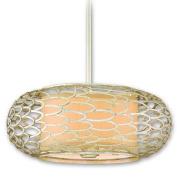 Corbett Lighting 127-45 Pendants , Indoor Lighting, Modern Silver