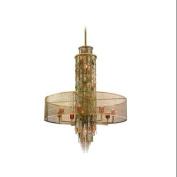 Corbett Lighting 123-716 Chandeliers , Indoor Lighting, Riviera Bronze W/ Si