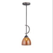 Woodbridge Lighting 13023MEB-M21AMB Pendants , Indoor Lighting, Metallic Bronze