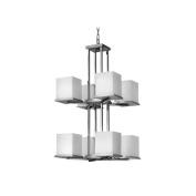 Fredrick Ramond FR49358SGC Chandeliers, Indoor Lighting, Steel Graphite
