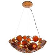 Varaluz 165P03KO Pendants, Indoor Lighting, Kolorado with Recycled Bottle Glass