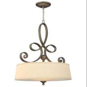 Fredrick Ramond FR42504BME Pendants , Indoor Lighting, Brushed Merlot