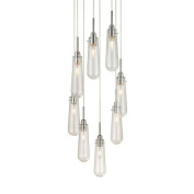 Sonneman 4848.01C Pendants , Indoor Lighting, Polished Chrome with Clear Glass