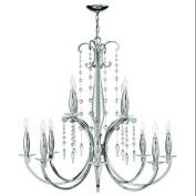 Fredrick Ramond FR43628PNI Chandeliers , Indoor Lighting, Polished Nickel