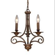 Elk Lighting 15041/3 Chandeliers, Indoor Lighting, Antique Bronze