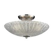 Elk Lighting 10271/3 Ceiling Fixtures , Indoor Lighting, Satin Nickel