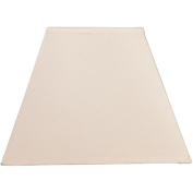 Square Lamp Shade, Ivory
