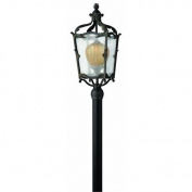 Hinkley Lighting 1421AI Post Lights, Outdoor Lighting, Aged Iron with Antique Copper Highlights