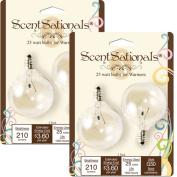 ScentSationals 25W Light Bulbs, 2pk
