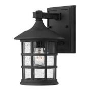 Hinkley Lighting 1800BK-GU24 Wall Sconces , Outdoor Lighting, Black