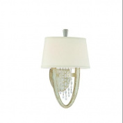 Corbett Lighting 106-12 Wall Sconces, Indoor Lighting, Antique Silver Leaf
