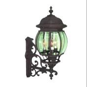 Woodbridge Lighting 61007-RTP Wall Sconces , Outdoor Lighting, Powder Coat Rust