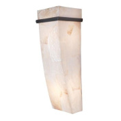 Varaluz 178K02A Wall Sconces, Indoor Lighting, Brilliant Mojave with Kabebe Shell Shade