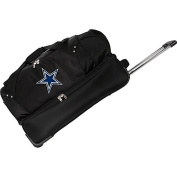 Denco Sports Luggage NFL Dallas Cowboys 70cm Drop Bottom Wheeled Duffel Bag