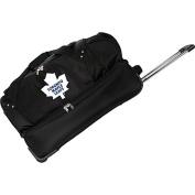 Denco Sports Luggage NHL Toronto Maple Leafs 70cm Drop Bottom Wheeled Duffel Bag