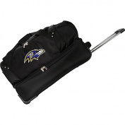 Denco Sports Luggage NFL Baltimore Ravens 70cm Drop Bottom Wheeled Duffel Bag