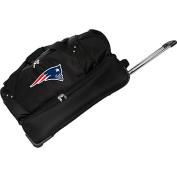 Denco Sports Luggage NFL New England Patriots 70cm Drop Bottom Wheeled Duffel Bag