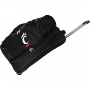 Denco Sports Luggage NCAA University of Cincinnati Bearcats 70cm Drop Bottom Wheeled Duffel Bag