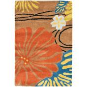 Safavieh Soho Hazel Floral Wool Area Rug or Runner