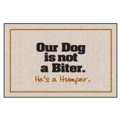 Our Dog Not a Biter Indoor/Outdoor Doormat