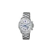 Wenger GST Chrono Watch, Silver Dial - Bracelet -