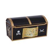 Guidecraft Pirate Treasure Chest, Black