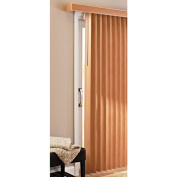 Better Homes and Gardens Vertical Blinds, Printed Oak