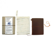 Midori Traveller's Notebook Journal Passport Size - Black